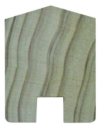 Metro Ex100x75x2400 Capping - Natural