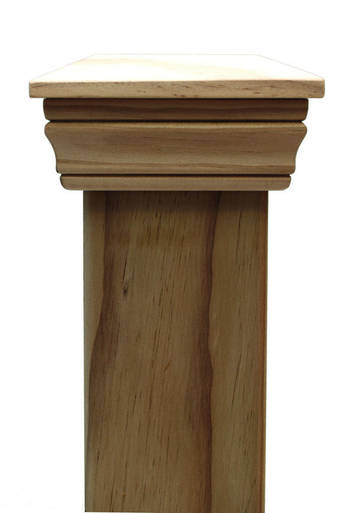Replica PLAIN 45 series post cap to suit 200x200 Rough Sawn Posts