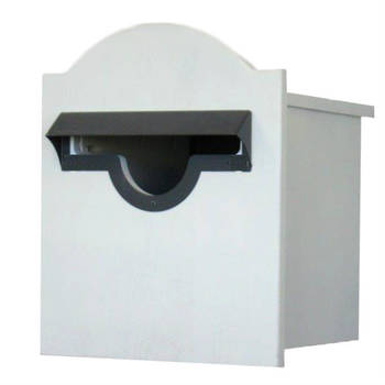 Lazzaro Fence Mount H3.2 Pine Letter Box (A4)
