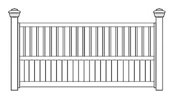 Dempsey/Dundee Fence Panels