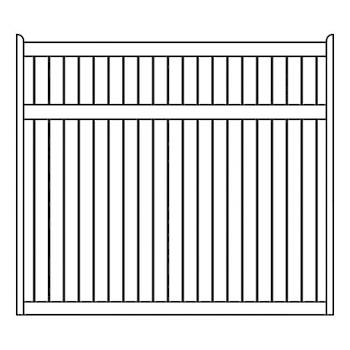 Staten Fence Panels