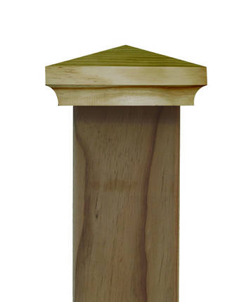 Classic PYRAMID post top to suit 100x100mm posts