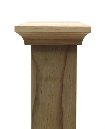 Classic PLAIN post top to suit 100x100mm posts