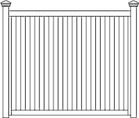 TG&V Fence Panels