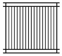 Washington/Wisconsin Fence Panels