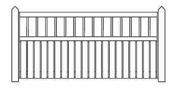 Enderby Fence Panels