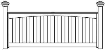 Heartley Fence Panels