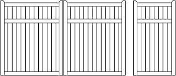 Staten Aluminium Gates Solid Infill Gates Heritage